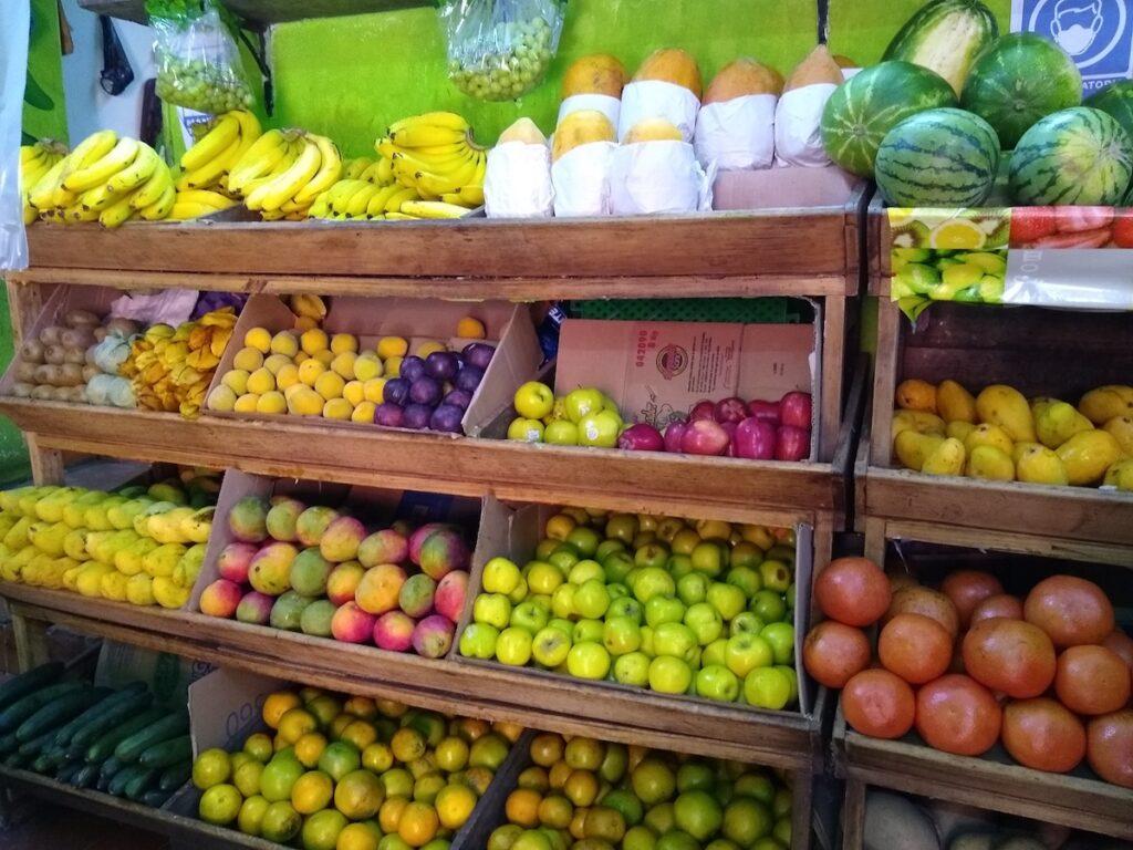 Fruiteria in Mexico.