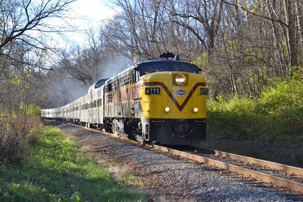 Cuyahoga Valley Scenic Railroad.