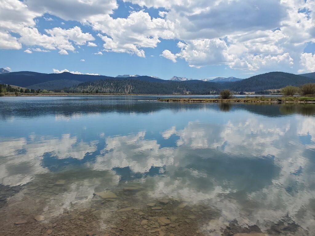 Georgetown Lake in Philipsburg, Montana.