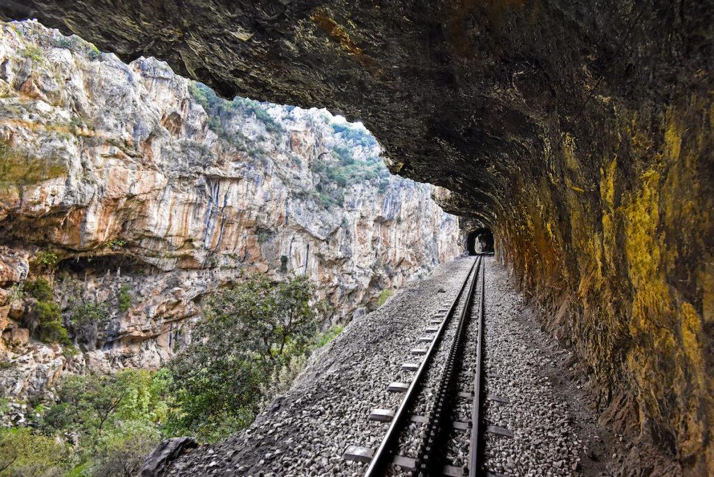 Diakopto Kalavryta Railway in Greece.