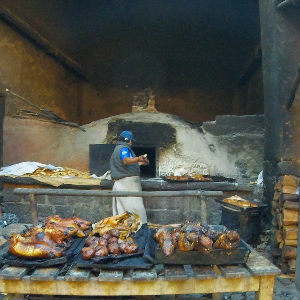 The Guinea Pig Oven at Pisac.