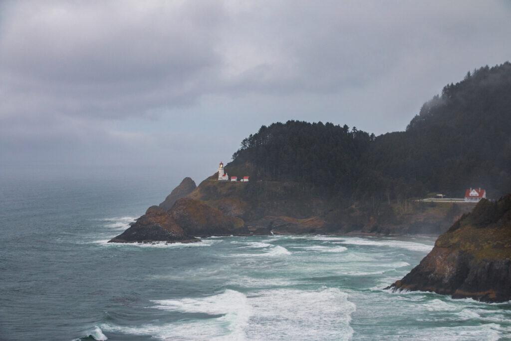 Heceta Head Lighthouse near Florence, Oregon.