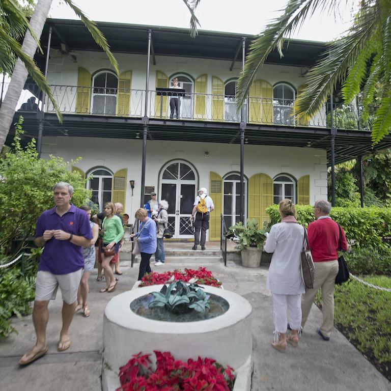 Ernest Hemingway's home in Key West.