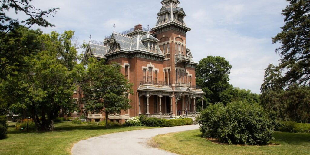 Vaile Mansion in Independence, MO
