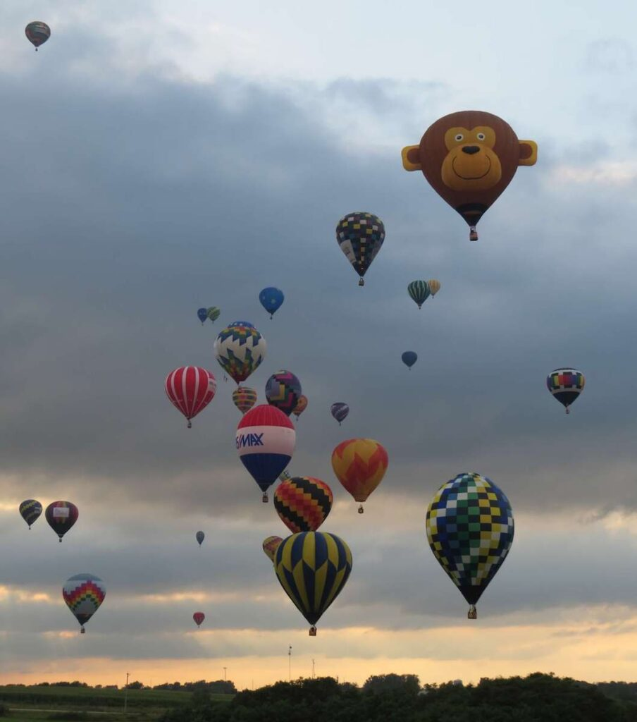 National classic balloons.
