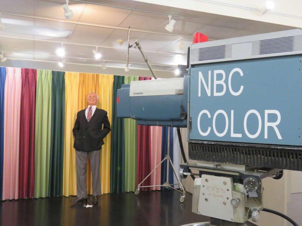 Johnny Carson exhibit at Elkhorn Valley Museum.