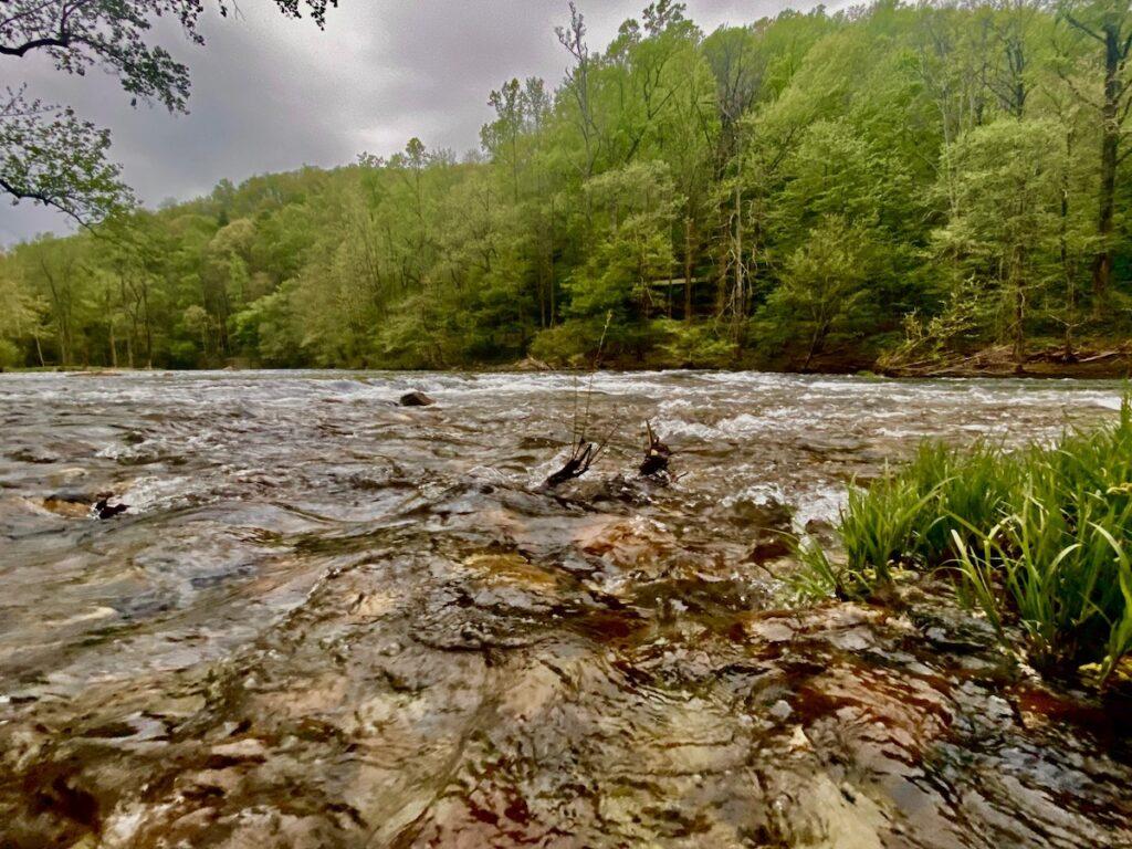 Tellico River, Tennessee.