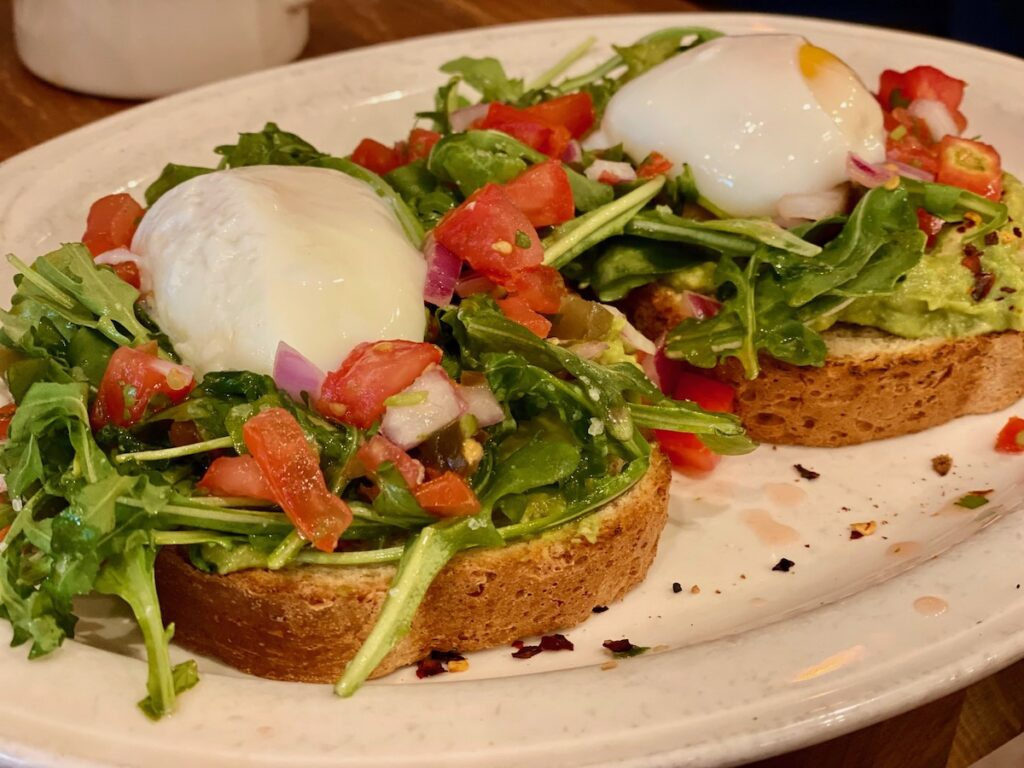 Big Bad Breakfast's avocado toast is only a peek at all the southern cuisine you can find in Florence, Alabama.