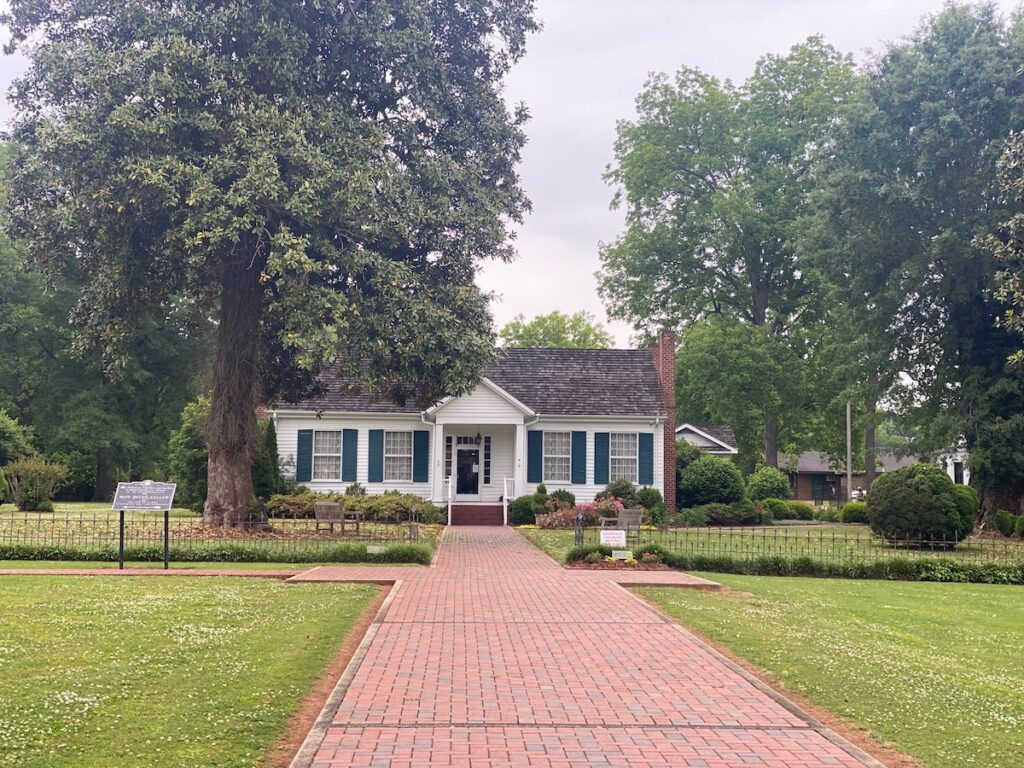 The Helen Keller Birthplace Museum and Ivy Green in Alabama.