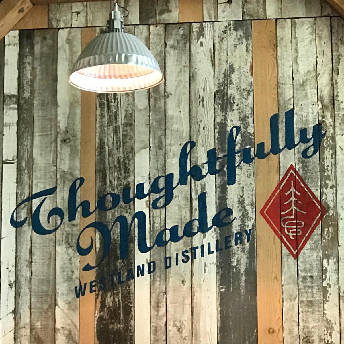 A distillery in Seattle, Washington.