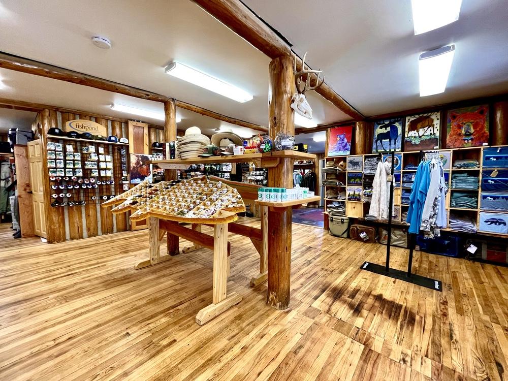 Inside Kirks Fly Shop