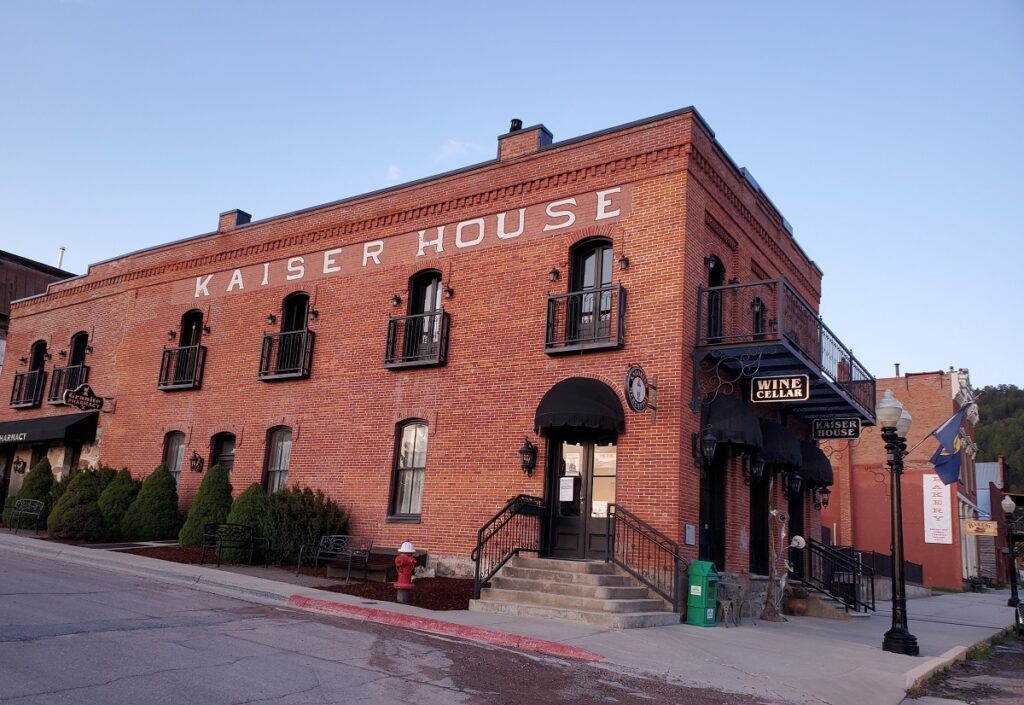 Kaiser House hotel in Philipsburg, Montana.