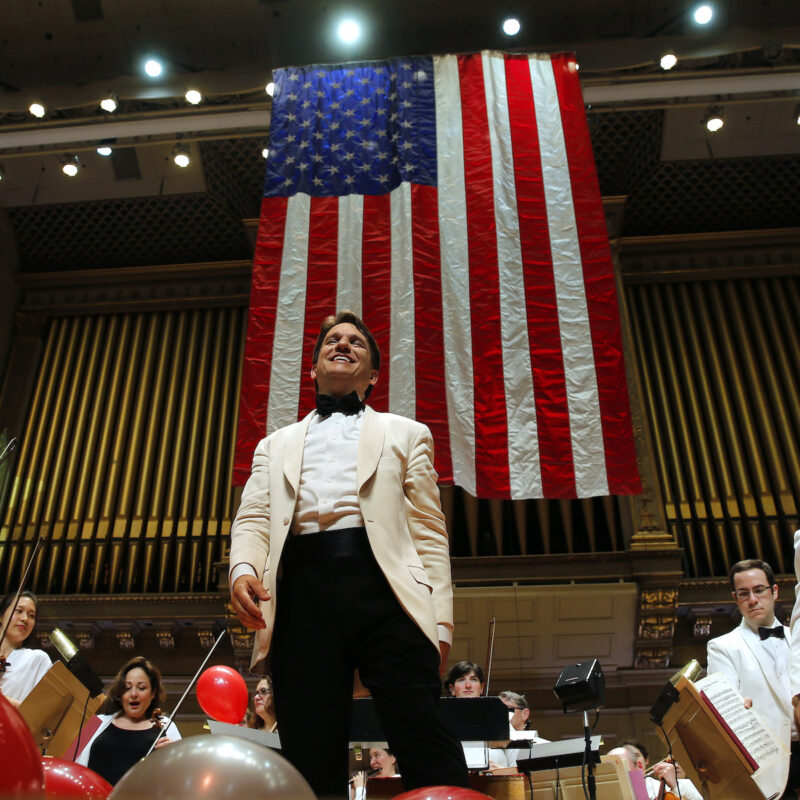 Keith Lockhart and the Boston Pops.
