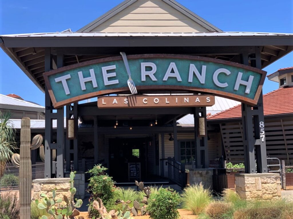 The Ranch restaurant, Las Colinas, Irving.