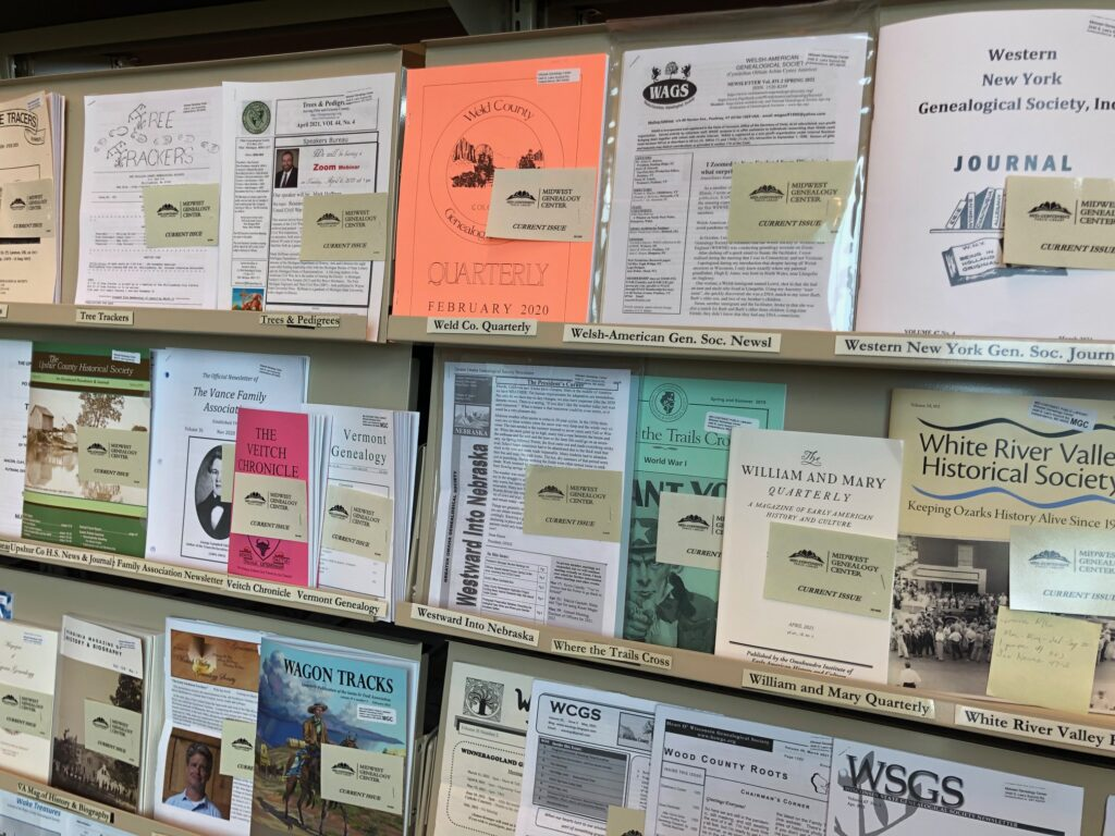 discover more archives at Midwest Genealogy Center in Independence, MO