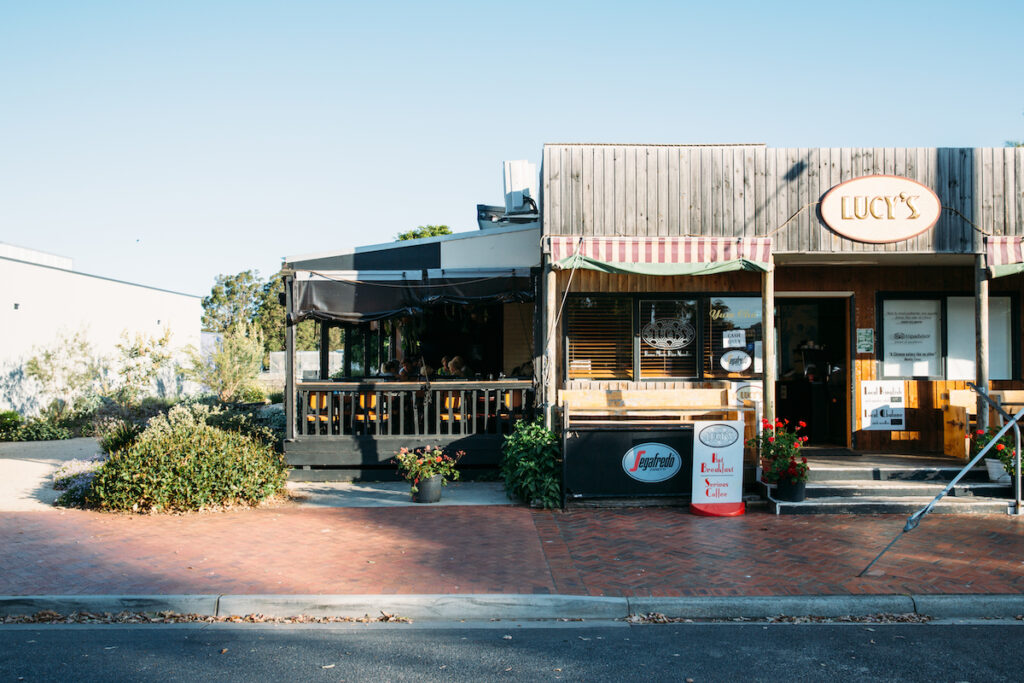 Lucy's Noodles in Mallacoota.