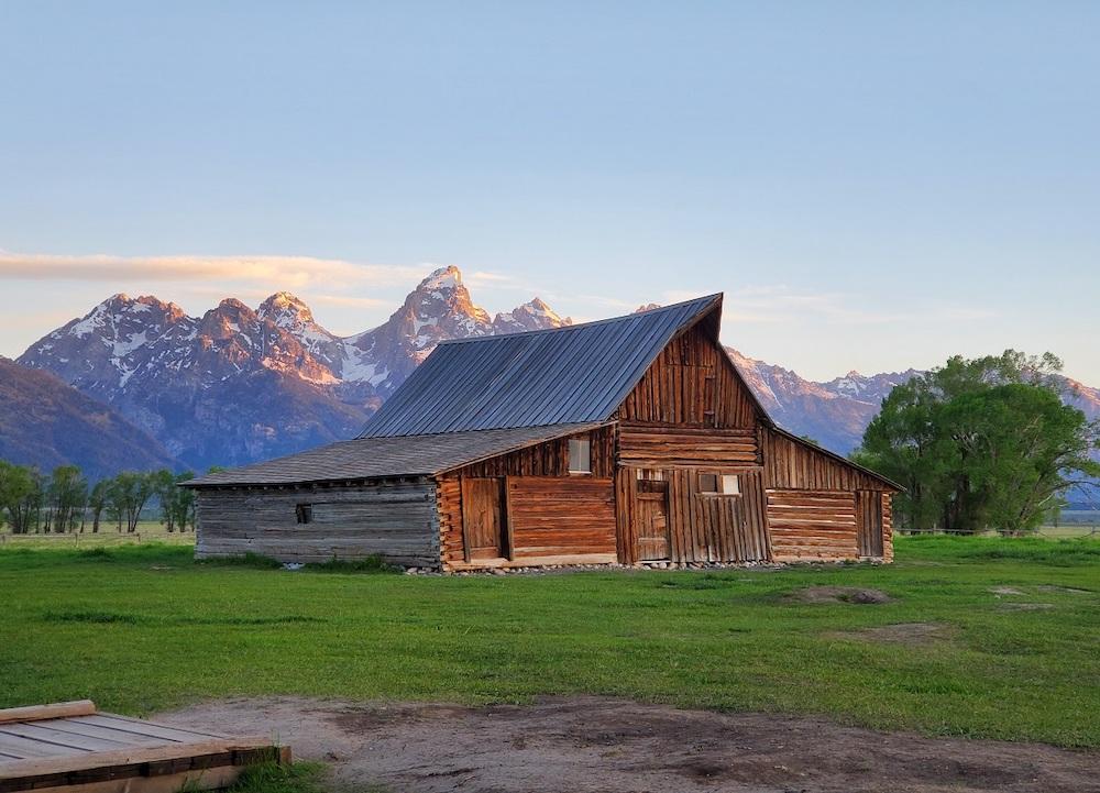 Moulton Barn on Mormon Row