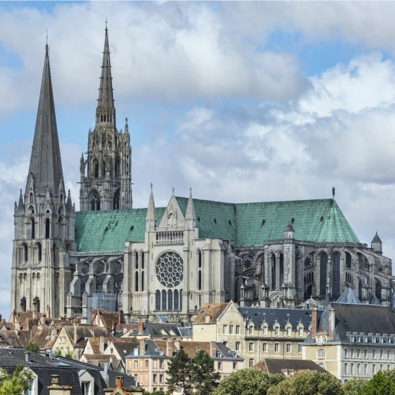 Notre-Dame De Chartres Cathedral, France.