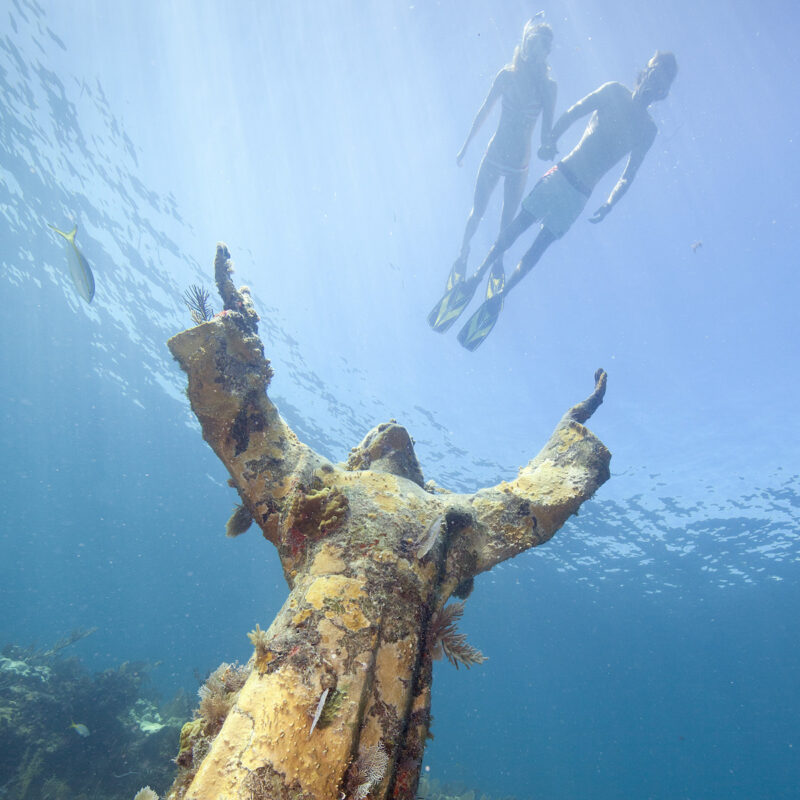 Christ of the Deep, Christ of the Abyss.