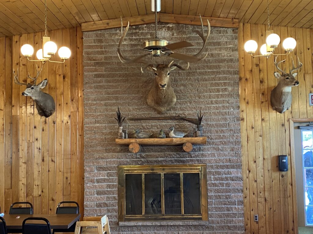Walter Scott Jr., Lodge Restaurant.