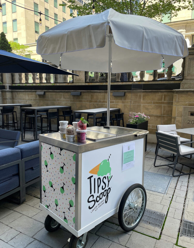 Tipsy Scoop at Precinct Kitchen + Bar, Boston, MA.