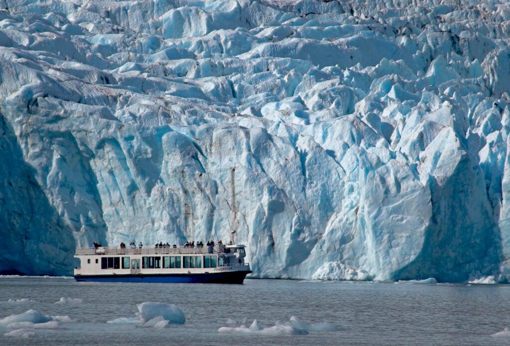Ptarmigan Portage Glacier in Anchorage, AK