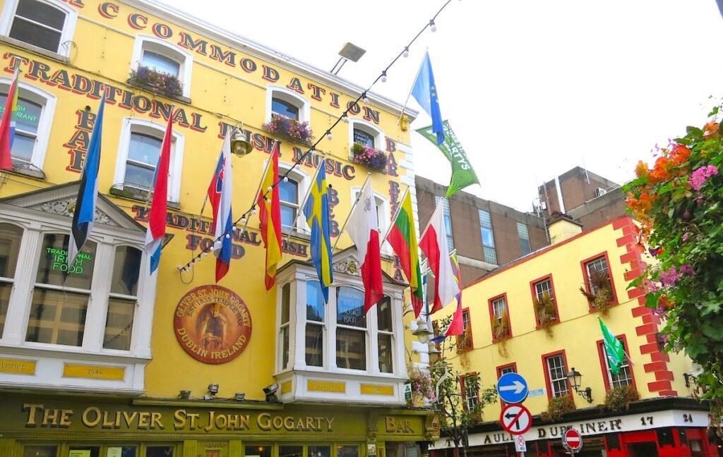Pubs in Ireland.