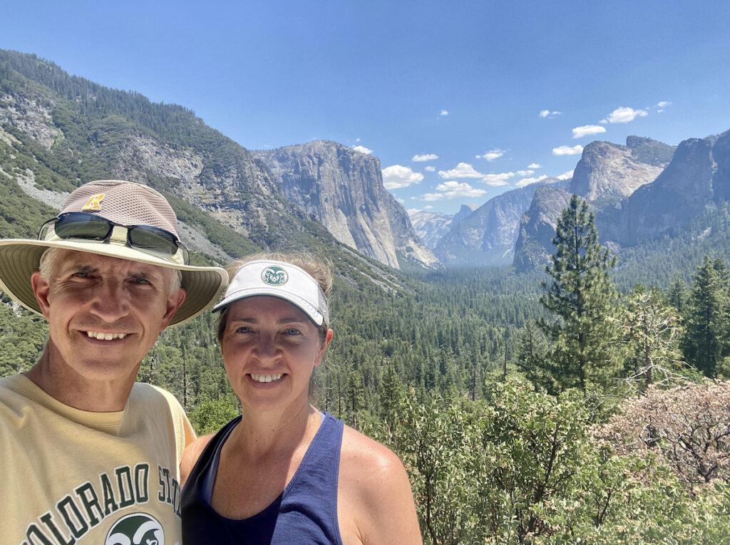 View of Yosemite National Park.