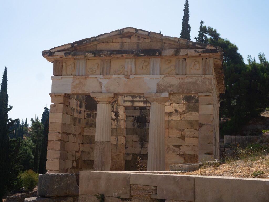 Reconstructed Athenian Treasury.