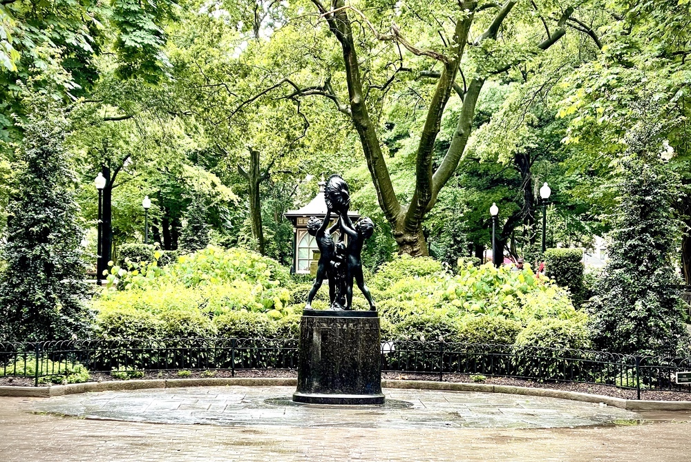Rittenhouse Square Park.