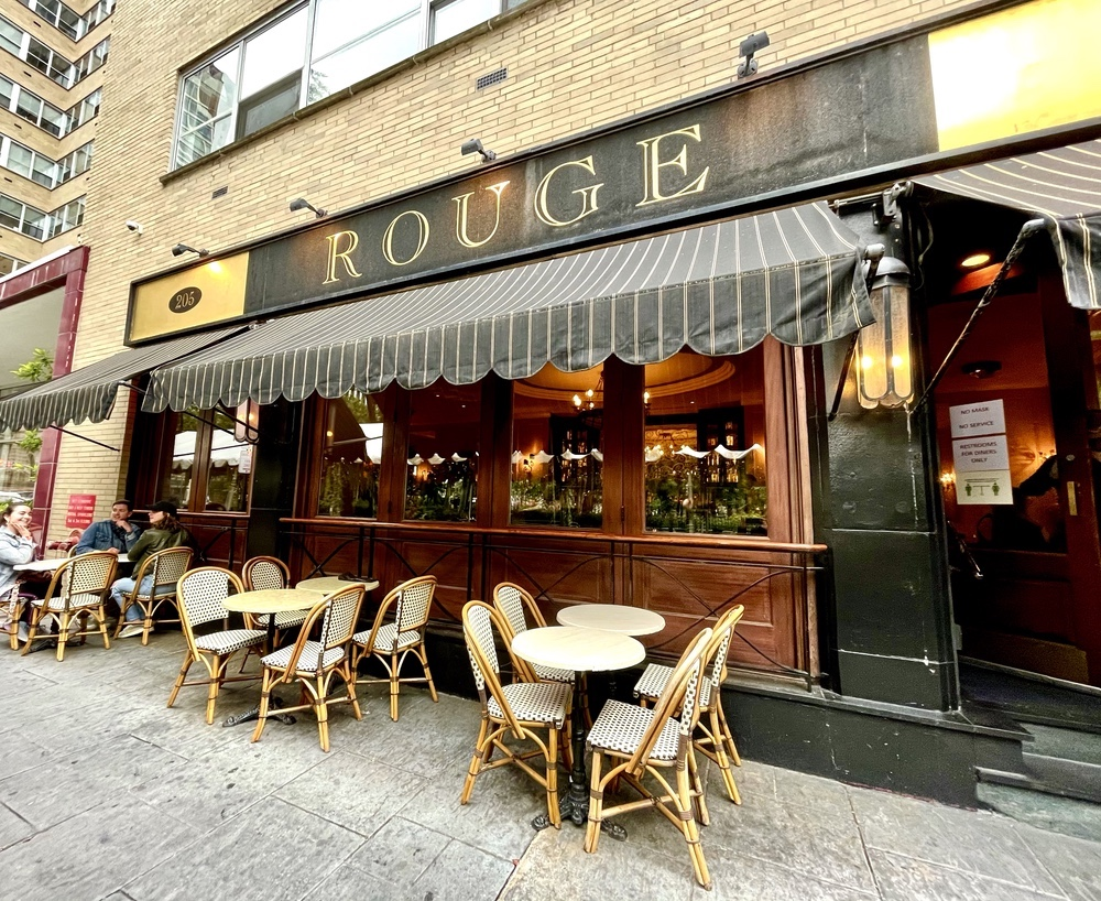 Rouge in Rittenhouse Square.