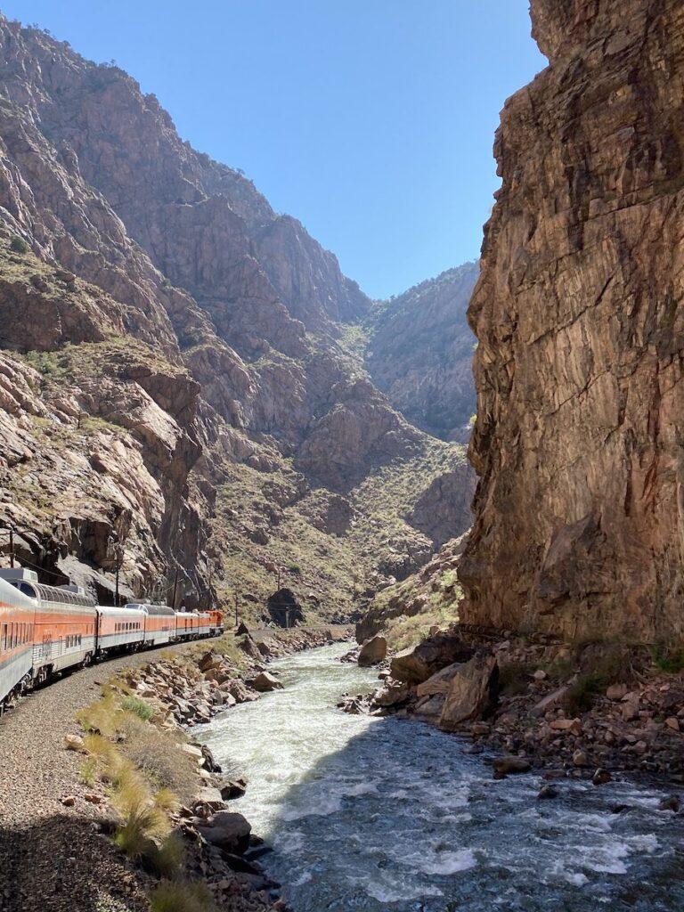 Royal Gorge Route Railroad.