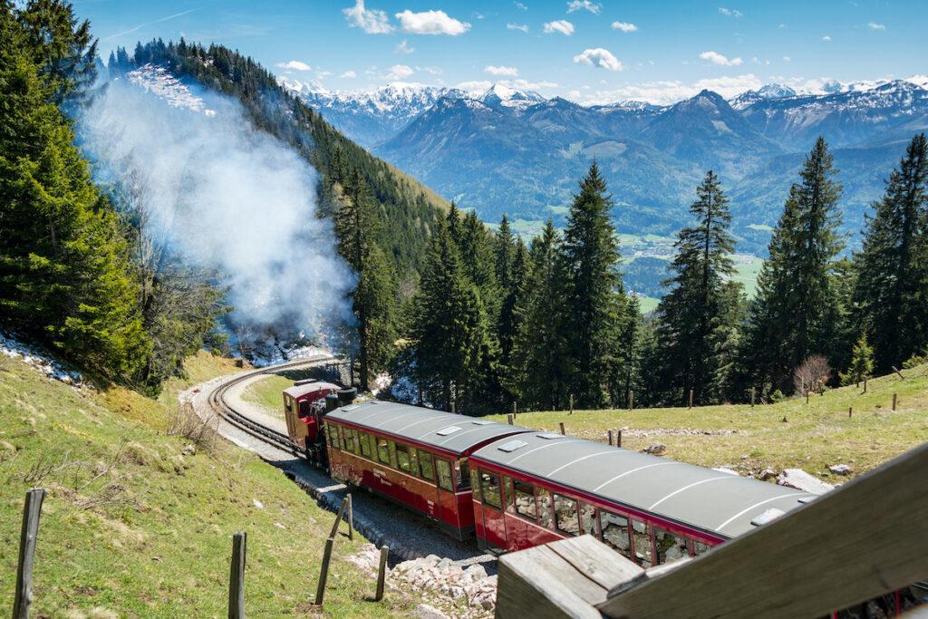 Schafberg Railway in Austria.