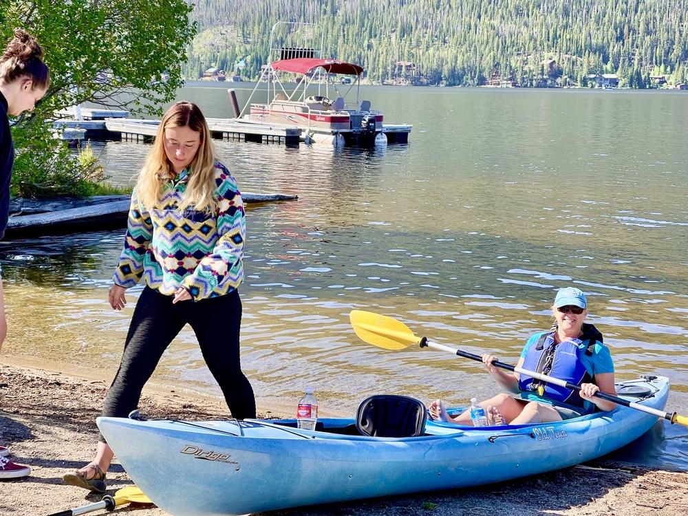 Tandem Kayak On Grand Lake