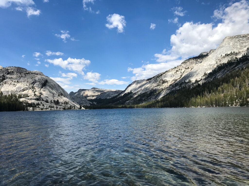 Tenaya Lake in Yosemite National Park.