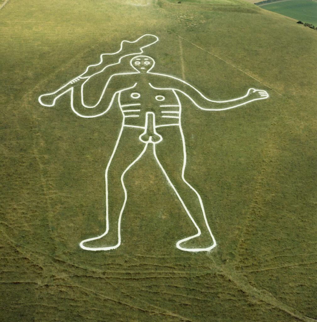Cerne Giant in Dorset.