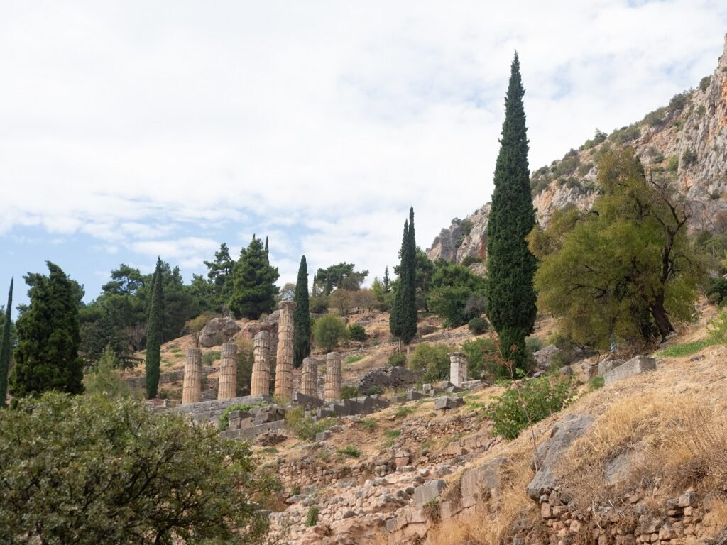 Doric columns in Delphi.
