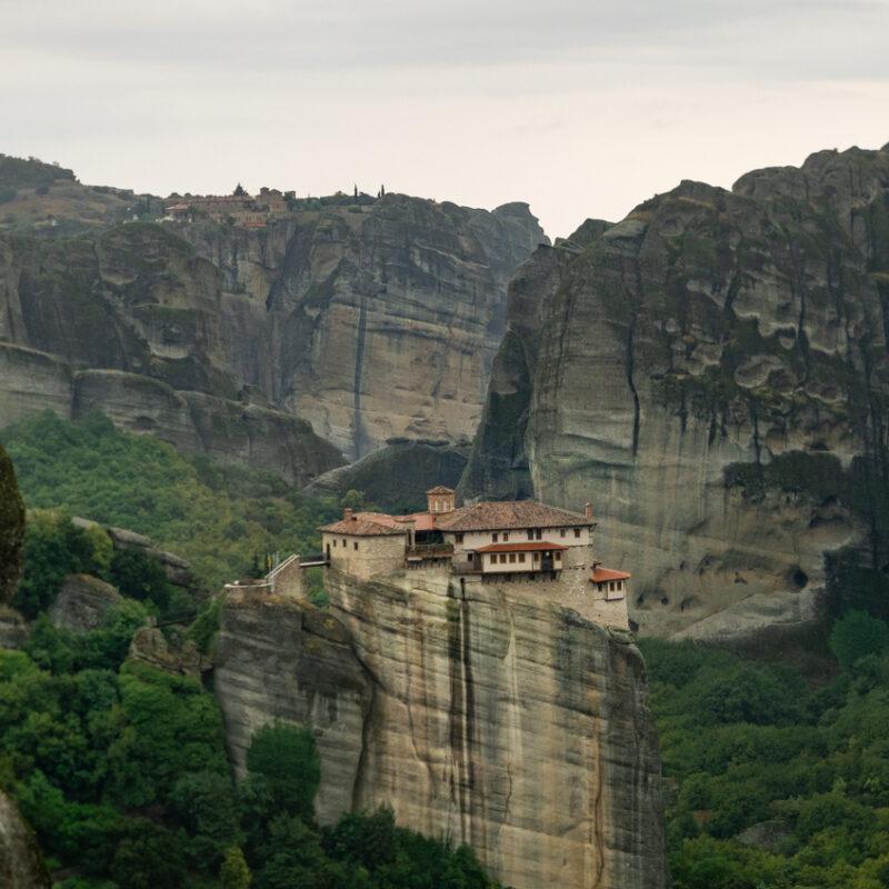 Holy Monastery of Roussanou in Meteora.