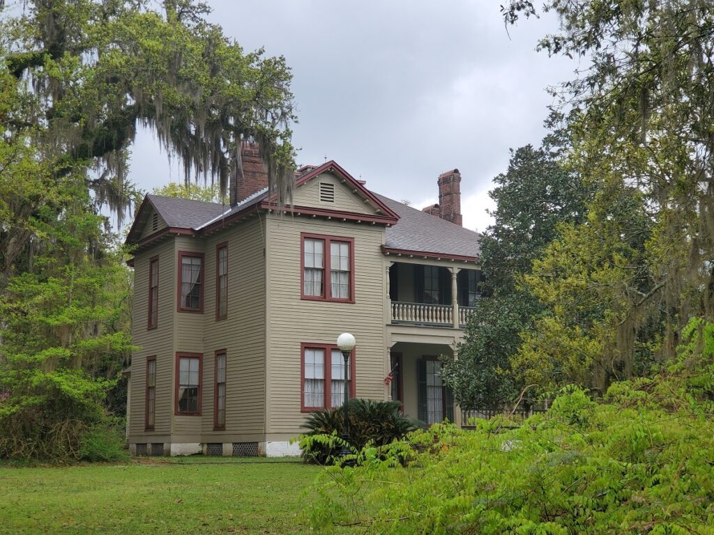 The Otis House in Fairview-Riverside State Park, Louisiana.