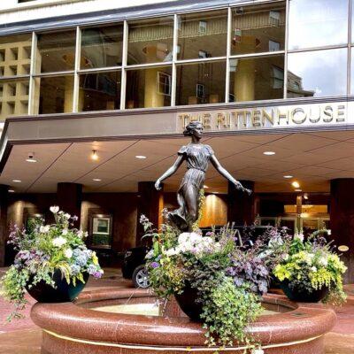 Rittenhouse Hotel in Rittenhouse Square.