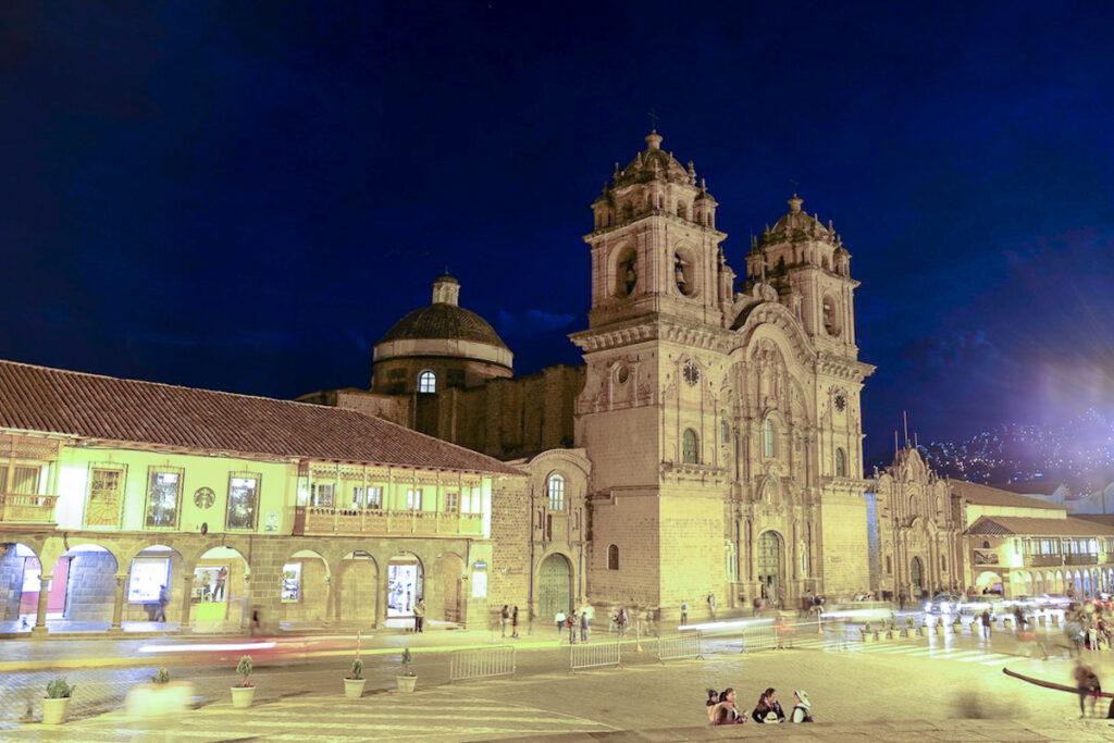 Cusco's Plaza De Armas (Main Square).