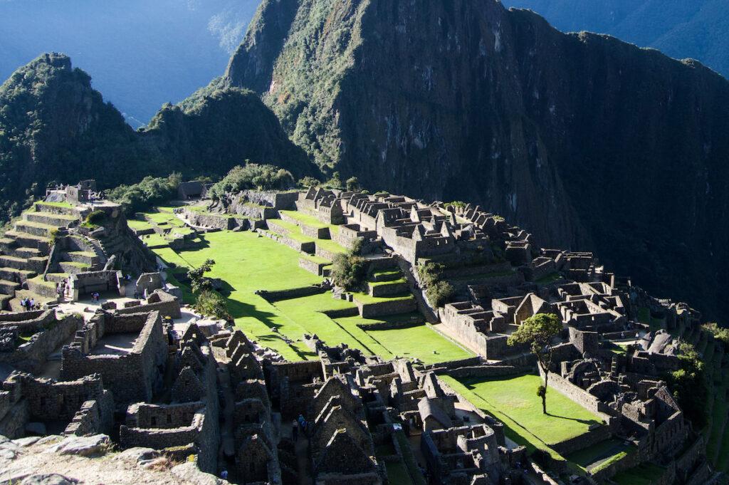 The Citadel in Machu Picchu.