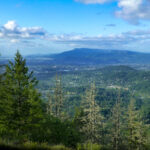 View of Eugene from Spencer Butte.
