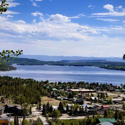 View of Grand Lake in Grand Lake, Colorado