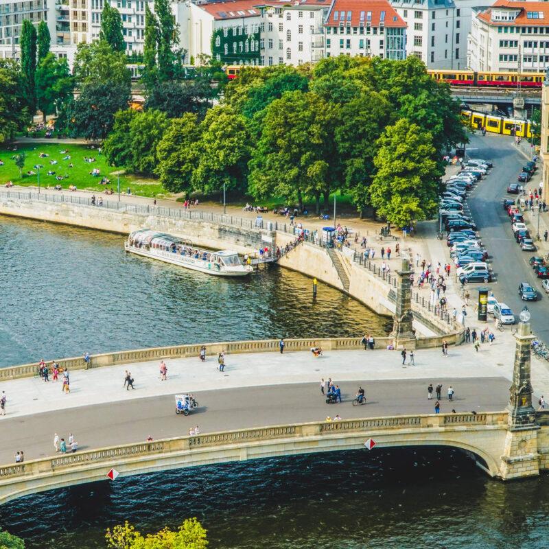 The Spree in Berlin, Germany.