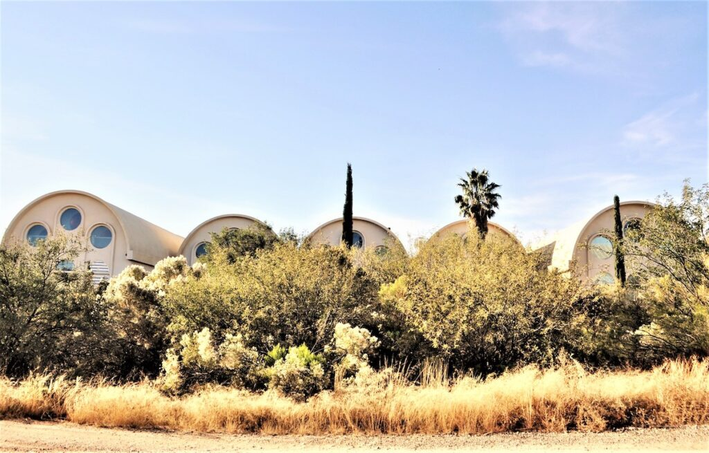 The energy center at Biosphere 2 in Oracle, Arizona.