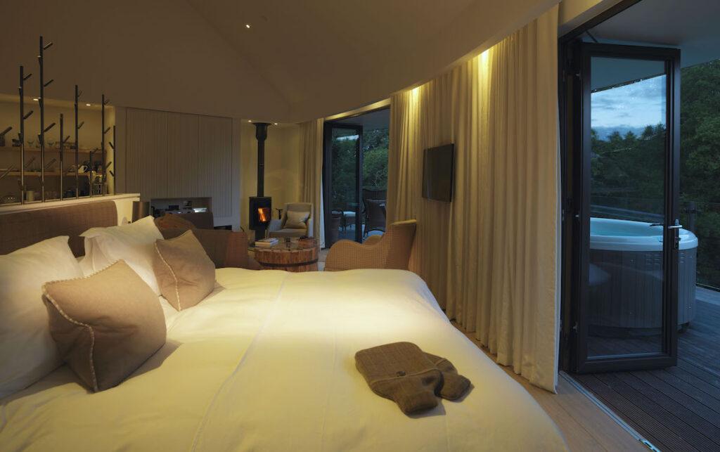 A suite in Chewton Glen.