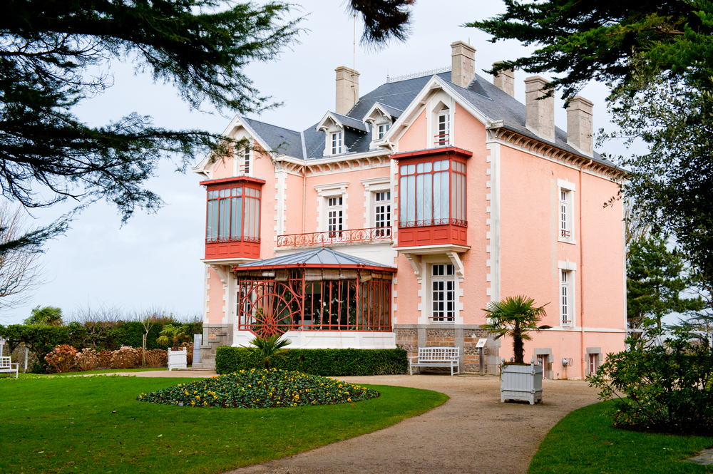 Christian Dior Museum in Granville, France.