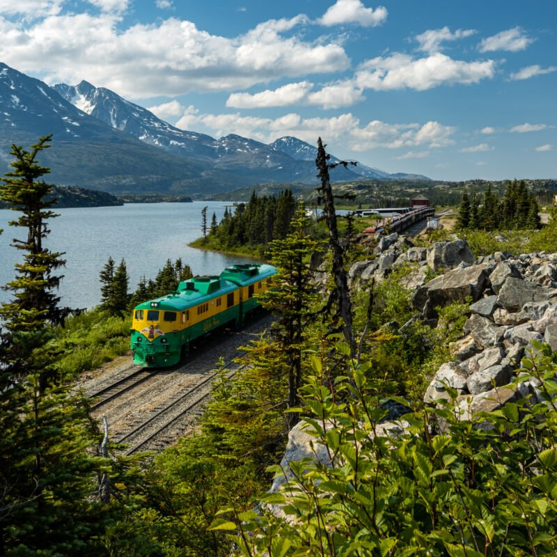 White Pass near Skagway, Alaska.