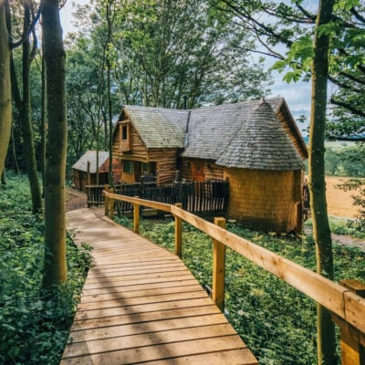Eco Treehouse in North Yorkshire.
